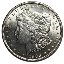 1903 MORGAN SILVER DOLLAR COIN Lot# MZ 4280