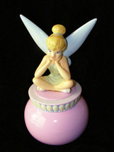 Disney Tinkerbell Ceramic Bank Enesco - $39.99