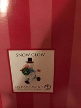 Dept 56 Snow Glow Snowman with box - $12.38