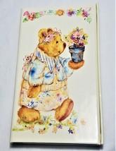 Heartline Teddy Bear Phone/Notes/Special Services Book  Hallmark NWT - $9.50