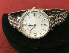 Fossil Jacqueline Silver Dial Stainless Steel Ladies Watch ES3545 - $41.97