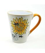Sunflower Bee Mug Cup Pen Pencil or Plant Holder Spectrum New 17oz (503ml) - $21.99