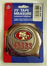 "Great Neck 1"" x 25' NFL Tape Measure San Francisco 49er - $6.93"