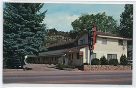 Silver Spruce Motel Durango Colorado 1973 postcard - $5.89