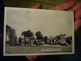 Vintage Golf Postcard Venice Country Club Florida image 1