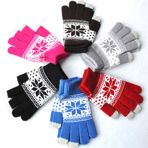 UNIQU® Men/Women Stretch Knit Gloves New Wrist Full Finger Unisex Gloves - $5.14