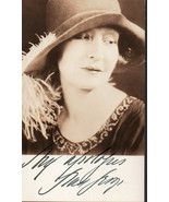 Grace George Autograph Silent Movie / Broadway Actress Signed Photograph - $15.83