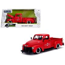 1953 Chevrolet 3100 Pickup Truck Matt Red Custom Shop Classic Truck (Las... - $30.60