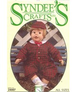 """Syndee's Crafts 10 16 21"""" Eton Charlee Doll Clothes Shirt Jacket Sew Pat... - $12.99"""