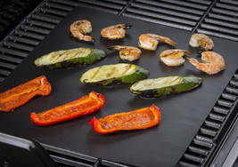 PTFE Non Stick BBQ Grill Mat Reusable Baking Liners Teflon Coated Cookin... - $9.99