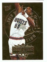 DIKEMBE MUTOMBO 1995-96 Fleer Ultra #45 Gold MedallionParallel Card Nuggets - $5.99