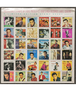Collectible Stamps of Elvis Presley's 1950's RCA Records Label Covers - $17.50