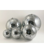 """Mirror Disco Light Ball with Hanging Ring / String Multi Sizes 5"""", 6"""", 8... - $10.88+"""