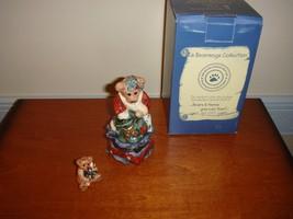 Boyds Bears Bearmoge Grenville Santa's Helper Bear  - $18.99