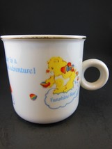 Vintage Care Bears Fine Porcelain Mug Cup Gold Ring American Greetings 1984 - $9.00