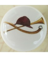 Cabinet Knobs Knob w/ FoxHunt Fox Hunt Acces Hat - $5.25