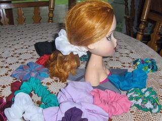 Scrunchy  Scrunchies Hair Handmade Lot