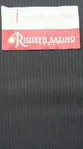 Vintage 120'S Italian Wool Blue Fine Suiting Fabric 6.3 Yards MSRP $875 - $68.80