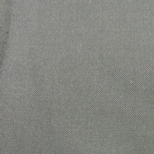 Black Twill Full Weight Wool Suiting Fabric 5 Yards MSRP 750