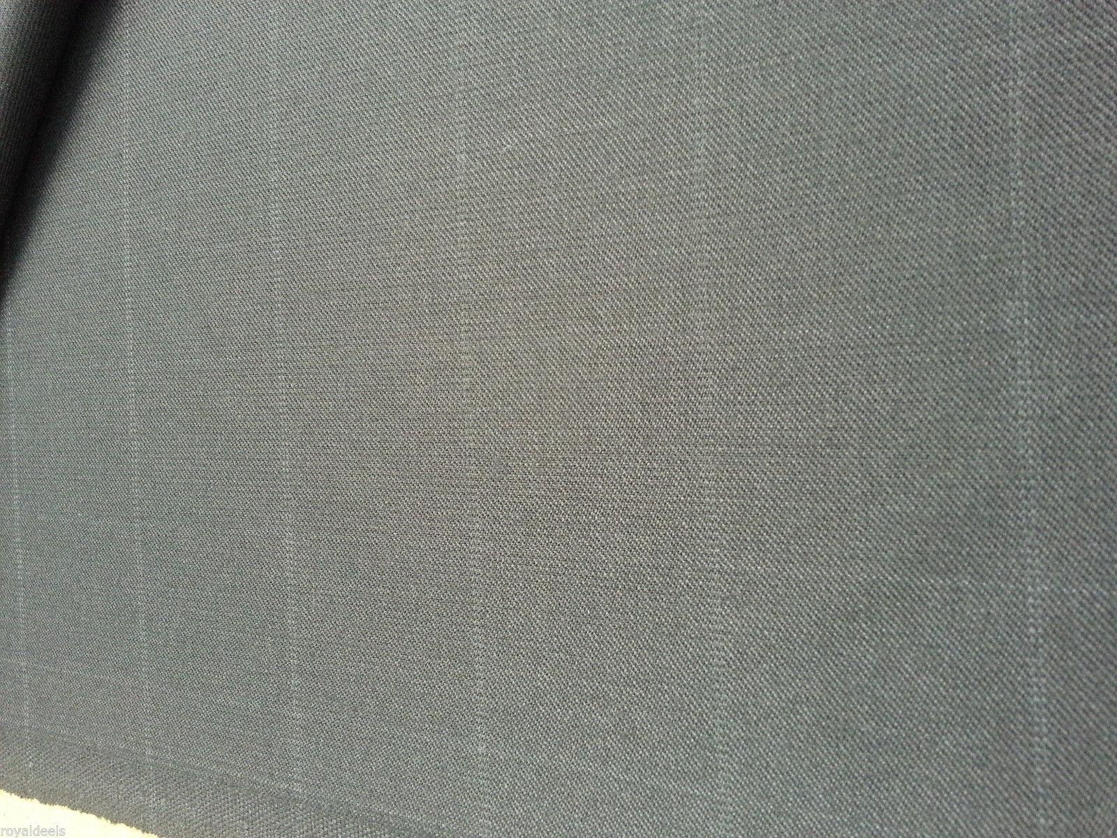 Super 130S fine italian wool Suit fabric  8.2 Yard  msrp 1495