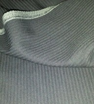 Navy Blue HeringBone 120'S Italian Wool suit fabric 9 Yard  -MSRP $1295 - $89.09