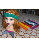 10  Crochet Hair Headbands  Handmade - $10.99