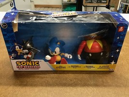 *damaged open box* Sonic Articulated Figures 30th Anniversary Exclusive - $24.54