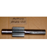 MultiQuip Shaft - Pinion pt # 20216-001 *NEW*   B3#1 1 Day Shipping - $96.29