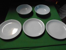 Beautiful 1950's SKYTONE Dinnerware by Homer Laughlin- 3 BREAD Plates & ... - $12.19