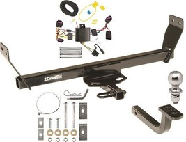 07 10 Chrysler Sebring Complete Trailer Hitch Tow Package W/Plug&Play Wiring Kit - $236.22