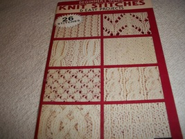 Beginner's Guide Knit Stitches & Easy Projects - $5.00