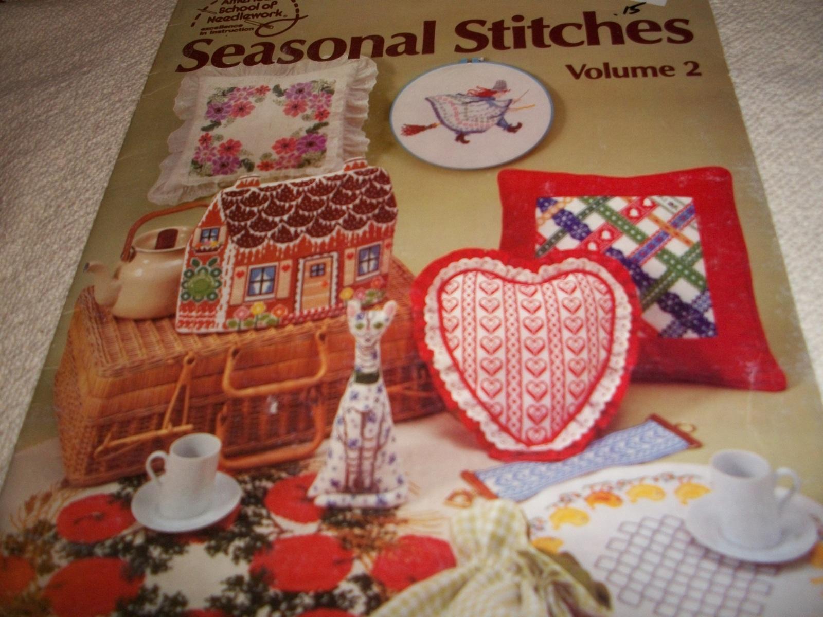 Seasonal Stitches Volume 2 - $5.00