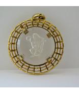 Vintage Signed Pakula Zodiac Pendant Aquarius h... - $9.99