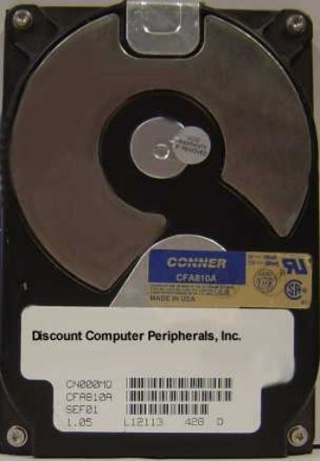 810MB 3.5IN IDE Drive Conner CFA810A Tested Good Free USA Ship Our Drives Work