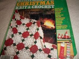 McCall's Design Ideas Vol. 4: Christmas Knit & Crochet - $6.00
