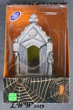 Lemax Halloween Spooky Town Haunted Crypt Lighted Table Accent Battery O... - $29.99
