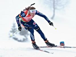 Lowell Bailey Biathlete Skiing Sport 32x24 Prin... - $13.95