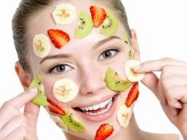 Fruits Face Mask Beauty Salon Health 32x24 Prin... - $13.95