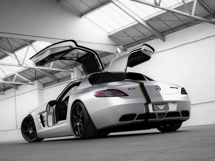 Mercedes benz sls amg 32x24 wall print poster for Mercedes benz wall posters