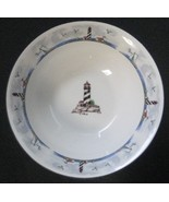 Coastal Lighthouse by TOTALLY TODAY China Coupe Cereal Bowl Flair Sides ... - $25.00