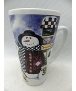 "Snowman & family - Snowed INN theme - Mug/Coffee Cup - 5 7/8"" - New cond... - $4.21"