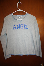 """""""Angel"""" Gray Junior Knit Top Size Small - $3.99"""