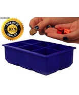 Extra Large Silicone IceCube Tray,Kitchen,Room, Freeze,Gadget,Utensil,Mo... - $18.49