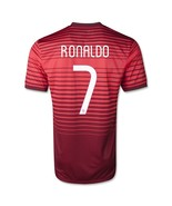 2014 portugal 7 ronaldo home red jersey shirt thumbtall