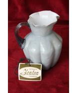 Fenton Blue Gray Vintage Small Pitcher/Vase - $125.00
