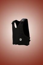 Lambert Barstow Bareback /Saddle Bronc Vest Black Leather - $355.95