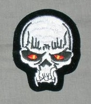 Embroidered Patch Vampire Skull Patch - $3.25