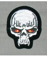 Embroidered Patch Vampire Skull Patch - $3.95