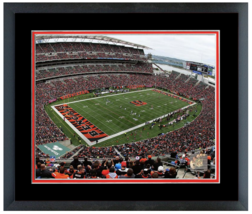Paul Brown Stadium Home of the Cincinnati Bengals - 11 x 14 Matted/Framed Photo  - $43.55