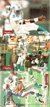 1996 skybox bernie parmalee oj mcduffie eric green miami dolphins 3 foot... - $2.50